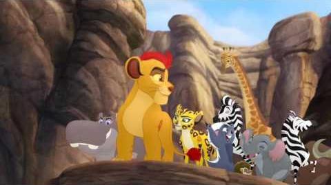 Kion's Roar of the Elders - Bunga the Wise Lion Guard Clip HD
