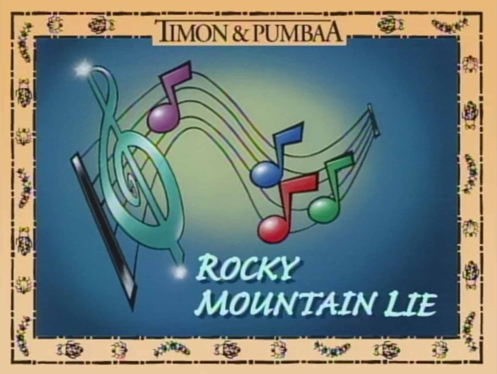Rocky Mountain Lie