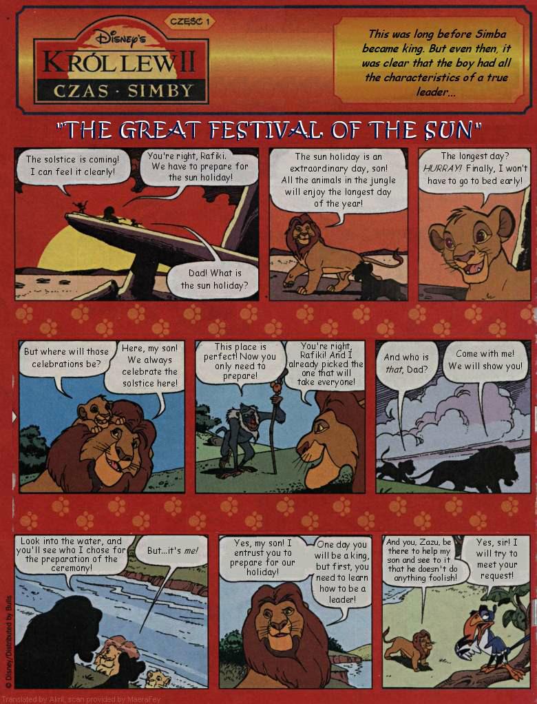 The Lion King (comic)