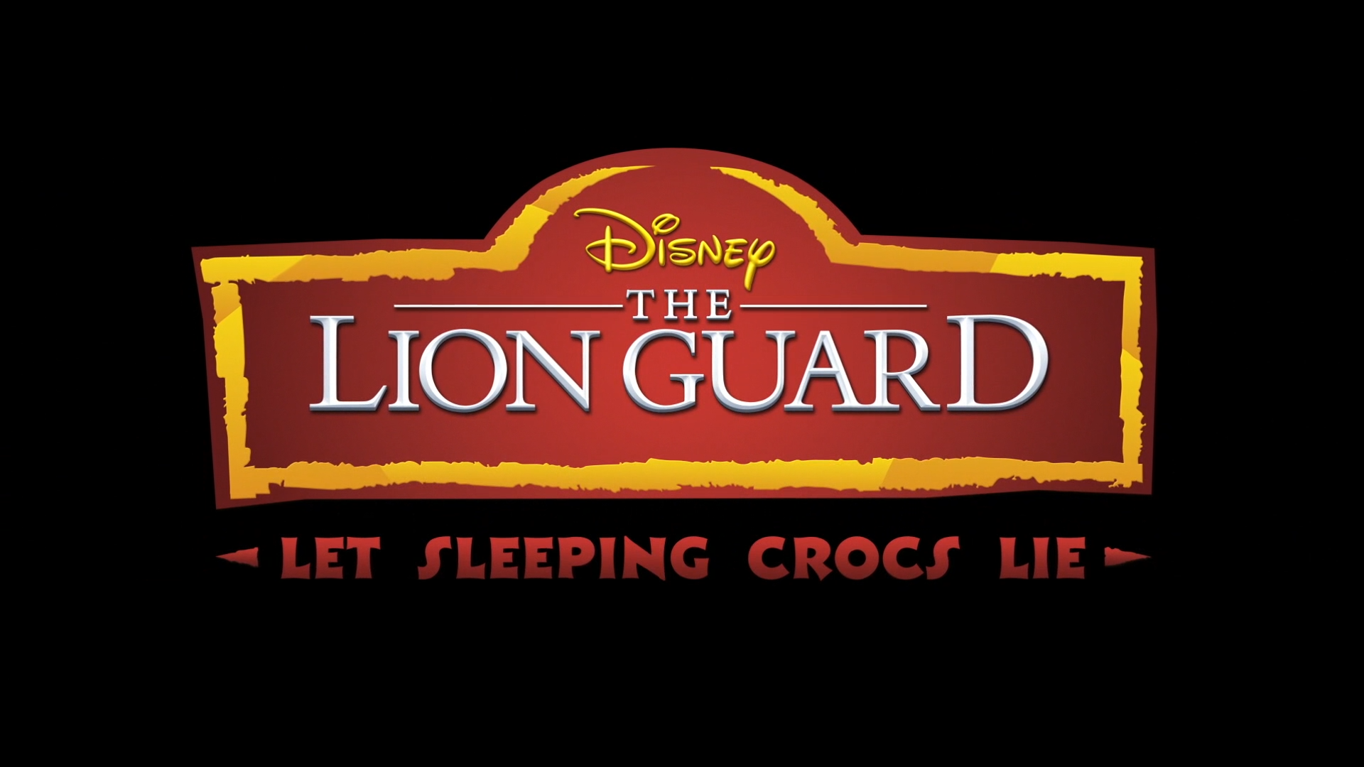 Let Sleeping Crocs Lie