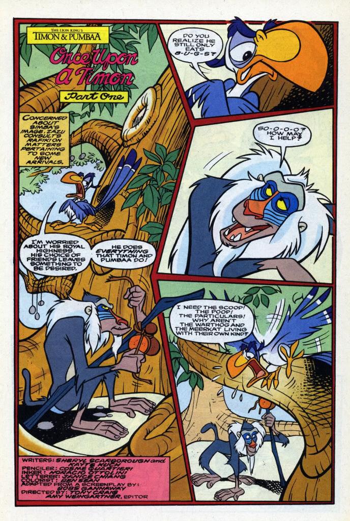 Once Upon a Timon (comic)