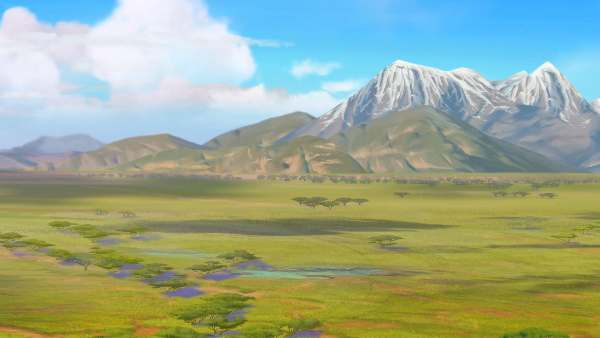 Theluji Mountains