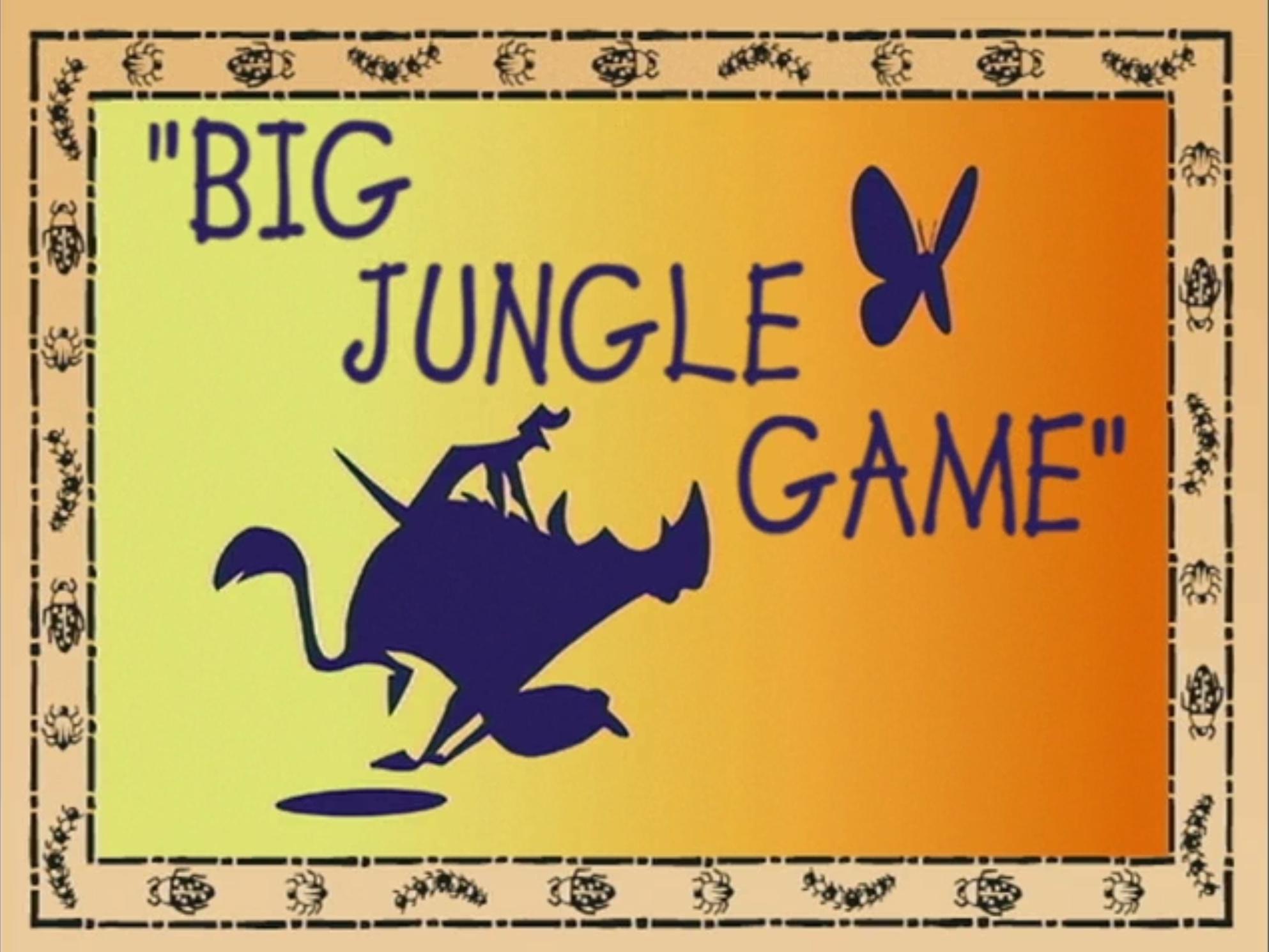 Big Jungle Game