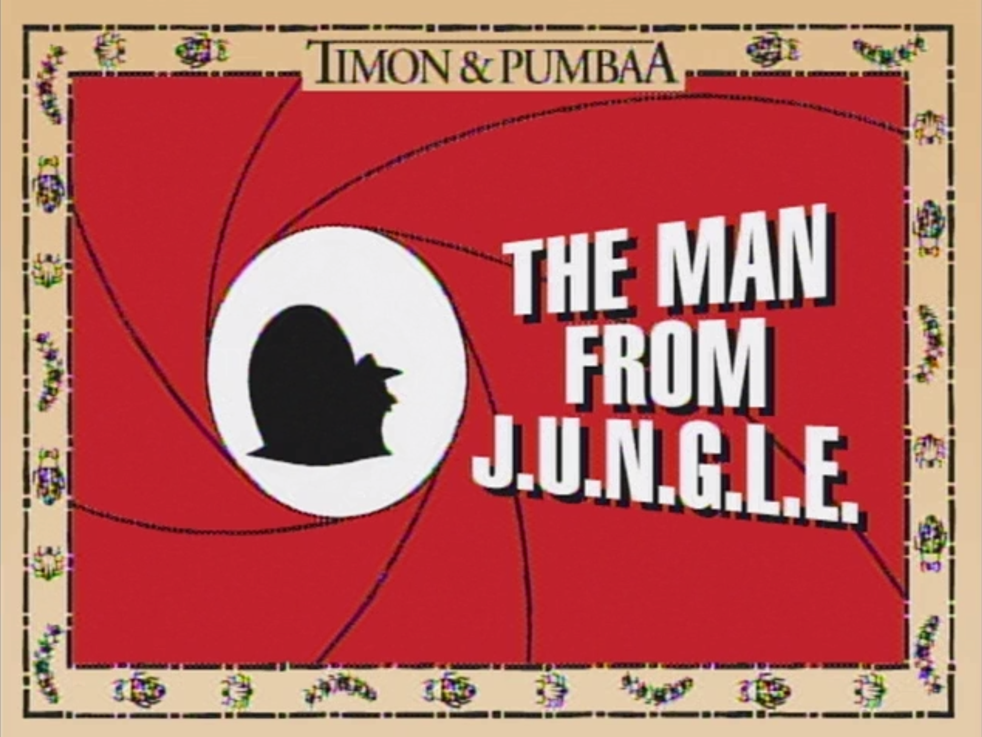 The Man From J.U.N.G.L.E.