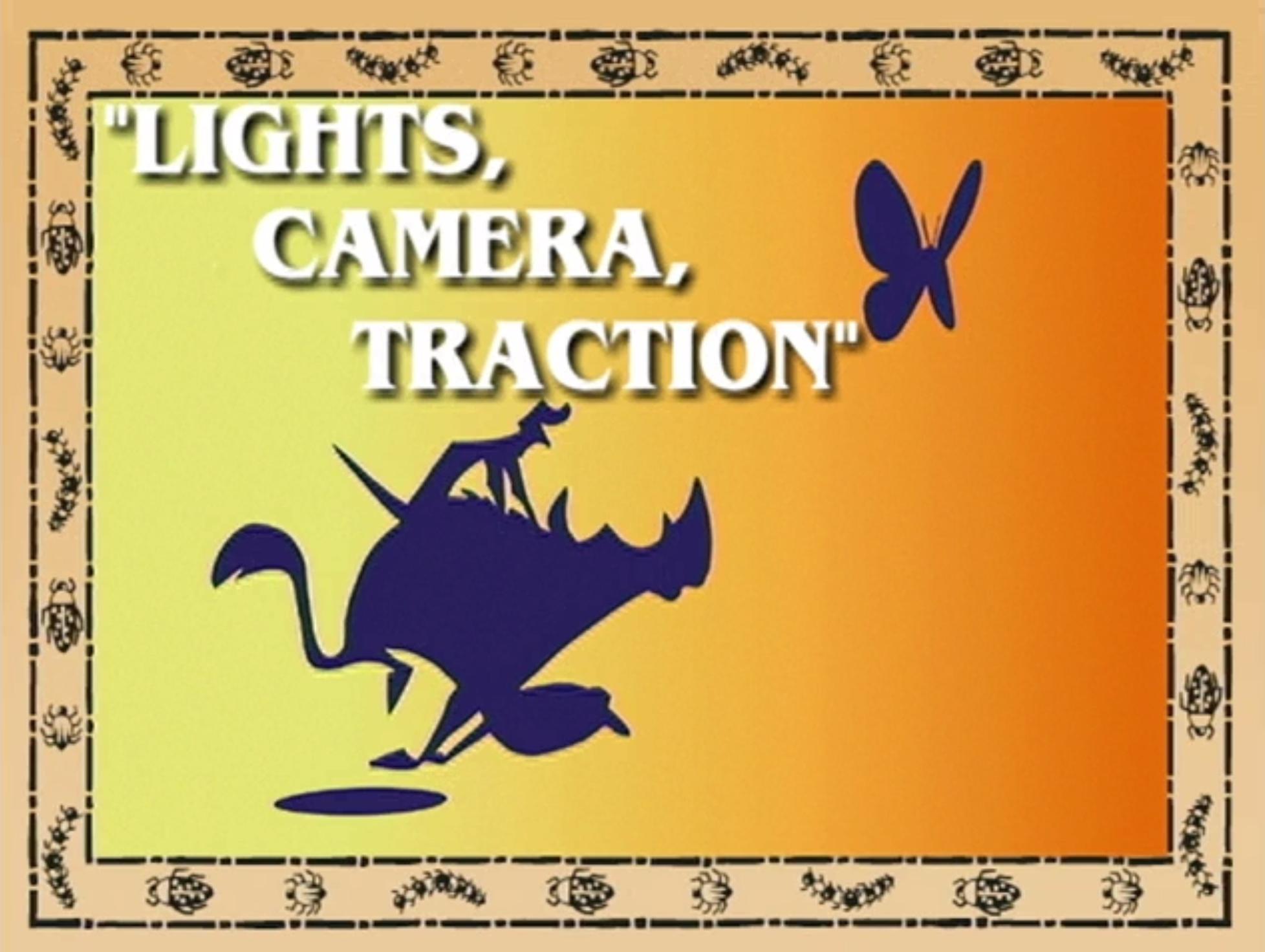 Lights, Camera, Traction