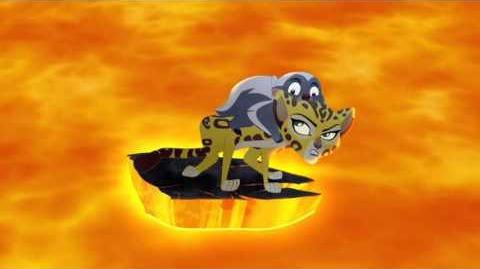 The Lion Guard Volcano Rescue! - Fuli's New Family Clip HD