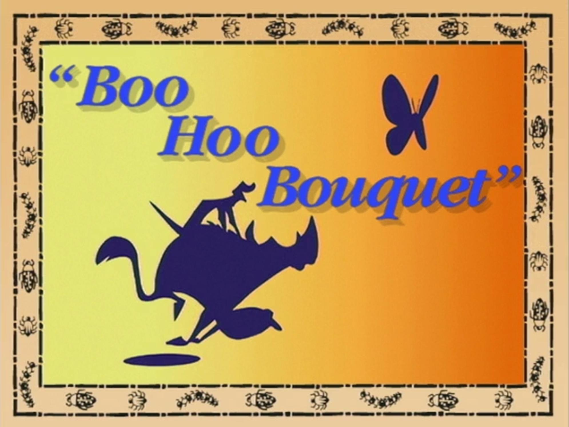 Boo Hoo Bouquet