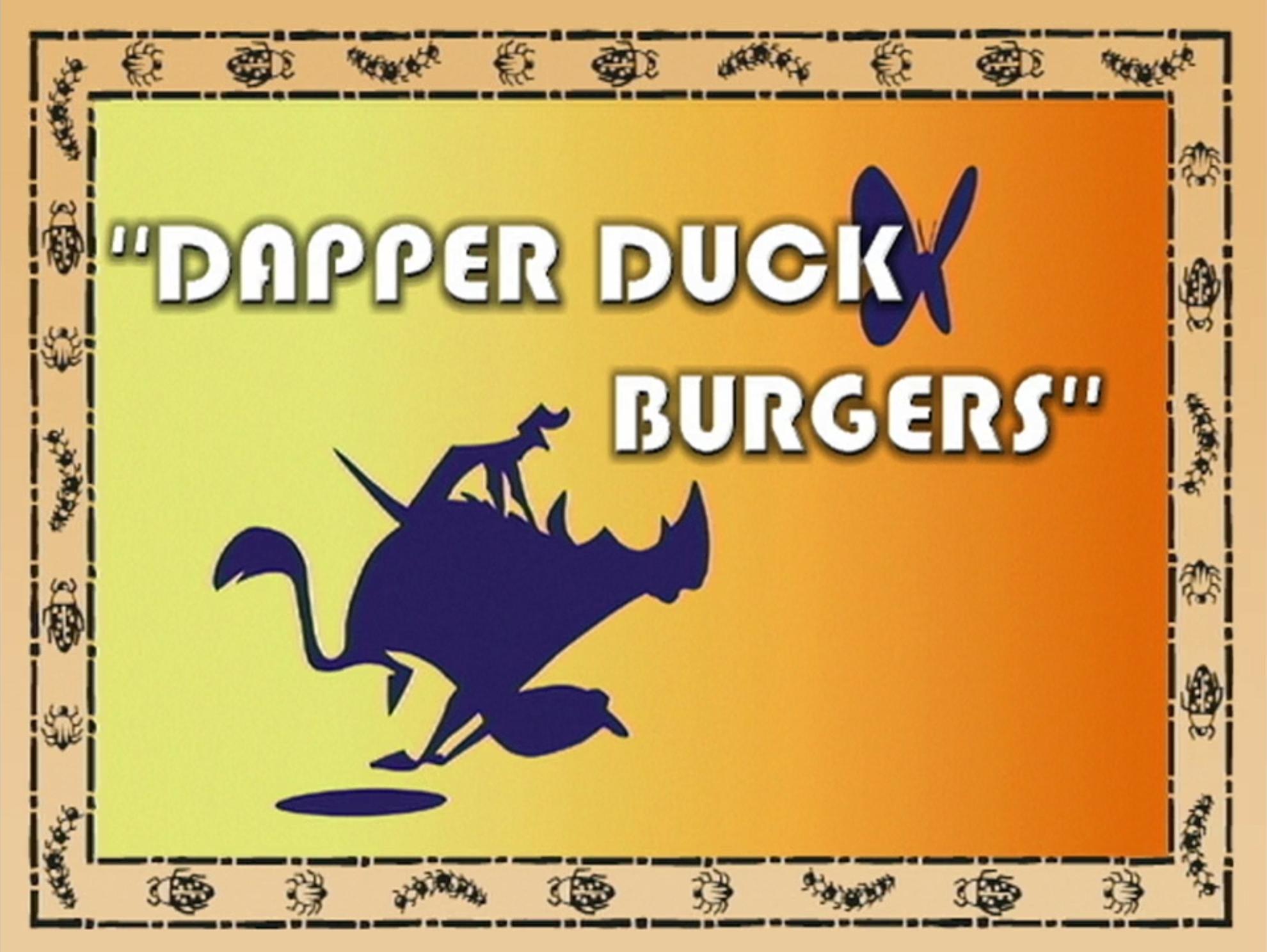 Dapper Duck Burgers
