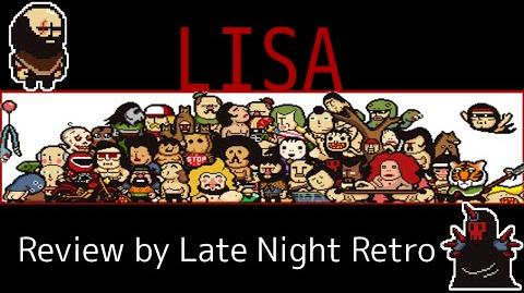 """LISA """"a painful RPG' REVIEW by Late Night Retro"""