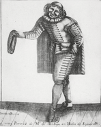 Molière en Sgnanarelle Simonin