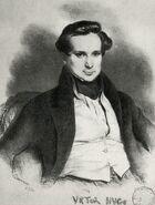 Hugo 1829 Achille Deveria