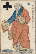 Rousseau 1794 carte