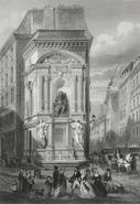Molière fontaine .Frères Rouarguepng