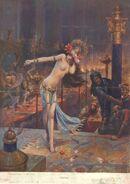 Flaubert Trois contes 1914 Hérodias Bussière Gaston