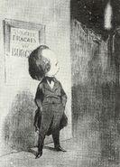 Hugo 1849 Honoré Daumier 3