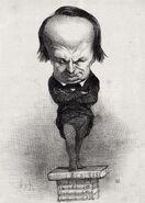 Hugo 1849 Honoré Daumier