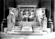 Rousseau 1812 monument Panthéon Meurisse