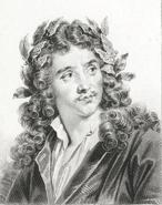 Molière 1850 Achille Deveria Lignon