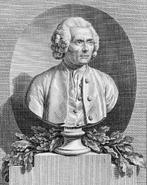 Rousseau 1820 Rémi Delvaux Jean-Antoine Houdon