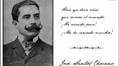 José Santos Chocano por Luis Alberto Sánchez