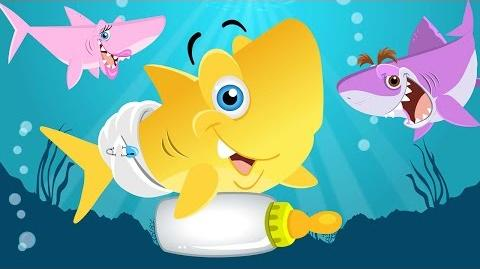 Baby Shark Song Animal Songs by Little Angel