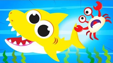 Baby Crab, Where is Your Shell? - Fun Song with Baby Crab and Baby Shark - Fun Songs by Little Angel