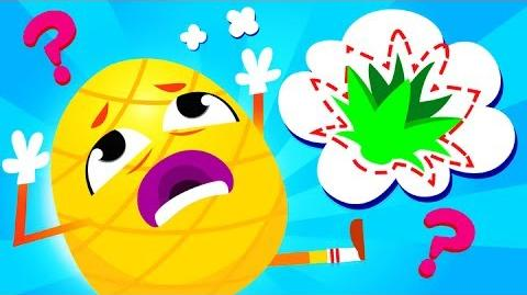 Where Is My Pineapple Crown? The Pineapple has Lost his Crown - Learn Fruits Rhymes by Little Angel