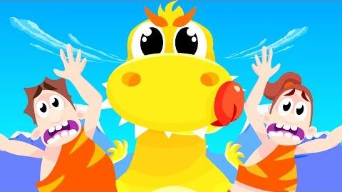 Baby T-Rex and the Dinosaur Dance Dinosaur Songs by Little Angel