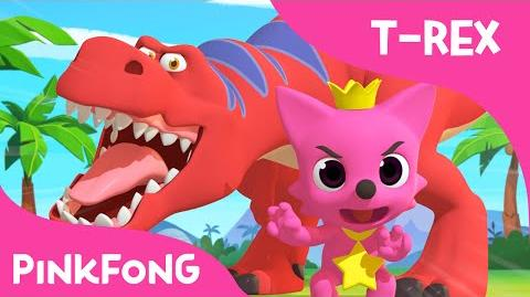Tyrannosaurus-Rex Dance With PINKFONG Dinosaur Songs PINKFONG Songs for Children