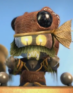 Captain Pud LBP 3 Newton's Father
