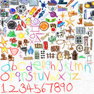Toy Story Level Kit Stickers