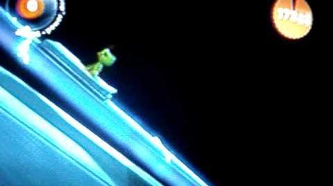 LBP Little Big Planet Spline Rider, Mini Game
