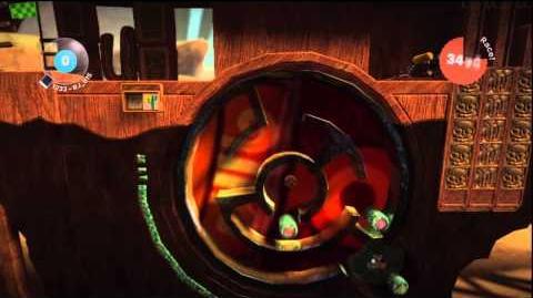 LittleBIGPlanet_(720p_HD)_Walkthrough_Part_45_-_Puzzle_Wheel_-_Score_Challenge