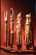 Funerary poles