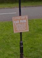 Halkyn 2009 sign