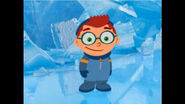 Leo at the ice cave