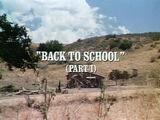 Episode 601: Back to School (Part 1)