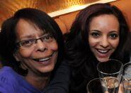 Jade with her mother Norma Thirwall