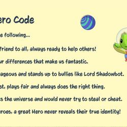 The Space Hero Code