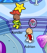 Adrian and Xander
