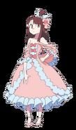 Akko Cinderella Set Render LWA