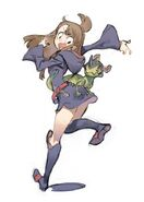 Little Witch Academia 2 Fourth Concept Artwork by Yoh Yoshinari (吉成曜) posted in Little Witch Academia 2 Kickstarter update