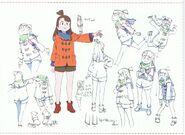 Atsuko Anime Debut Outfit LWA