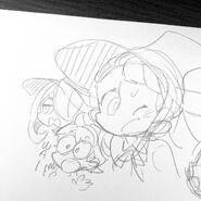 Doodle of Red Team created by Eku Uekura at 1-2-2019 posted on Instagram