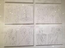 Woodward and Beatrix Concept Design sketches
