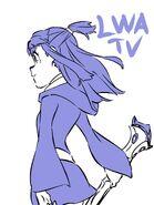 Akko doodle by LWA animator Kengo Saito (斉藤健吾) @kengo1212