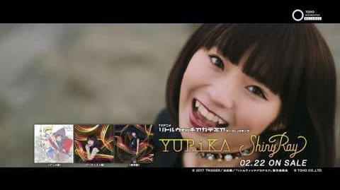 YURiKA「Shiny_Ray」ミュージックビデオ(Short_Ver.)/TVアニメ『リトルウィッチアカデミア』OPテーマ