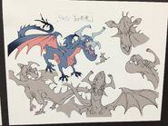 Briton Red Dragon Sub Design LWA