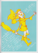 "Atsuko Kagari by animator Tatsuya Oishi (尾石達也) One of the guest illustrations that were featured in Yoh Yoshinari's (吉成曜) new artbook ""The Art of Yoh Yoshinari Illustrations"" LWA"