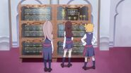 Akko Lotte Sucy Before Trophy Case LWA 03
